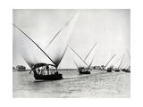 Sailing on the Nile  C1880