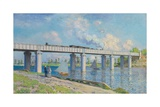 Railway Bridge at Argenteuil  1873