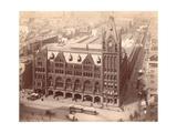 Pennsylvania Railroad Station  Market Street West at Penn Square  1889