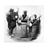 Japanese Musicians  C1860s