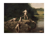 Swimming Hole  1885