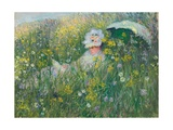 In the Meadow  1876
