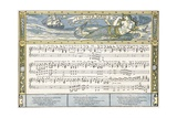 The Mermaid'  Song Illustration from 'Pan-Pipes'  a Book of Old Songs  Newly Arranged and with…