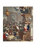 Credulity  Superstition and Fanaticism  Illustration from 'Hogarth Restored: the Whole Works of…