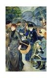 Les Parapluies  1886