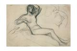 Seated Female Nude  1881