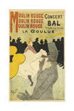 Poster Advertising 'La Goulue' at the Moulin Rouge  1891