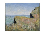 Edge of the Cliff  Pourville  1882