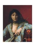 Veiled Circassian Beauty  1876
