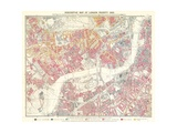 Descriptive Map of London Poverty  1889