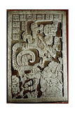 Lintel 25 of Yaxchilan Structure 23  Showing Accession Rituals of the Ruler Shield Jaguar…