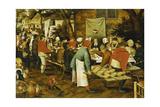 A Peasant Wedding Feast  1630