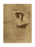 Woman Combing Her Hair - La Coiffure  Plate VII from Elles; Femme Qui Se Peigne - La Coiffure …