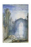 Melrose Abbey: an Illustration to Sir Walter Scott's 'The Lay of the Last Minstrel'