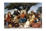 surmon De Jesus-Christ Sur La Montagne' (Matthew  V)  1844