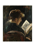 Woman Reading; Lesendes Madchen  1888