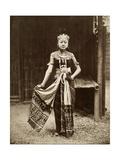 Dancer at the Javanese Village  Exposition Universelle  Paris  1889