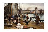 Unloading the Catch  1881