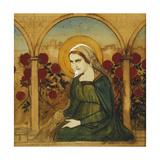 The Virgin Mary in the Rosegarden; Jungfru Maria I Rosengard