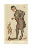 The Earl of Westmoreland  the Affable Earl  10 November 1883  Vanity Fair Cartoon