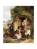 The Cherry Seller  1856
