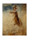 Equestrian Portrait of a Lady  Said to Be Lady Elizabeth Foster