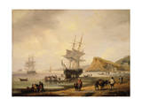 Fishing Scene  Teignmouth Beach and the Ness  1831