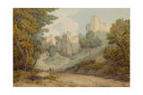Okehampton Castle  1794