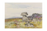 Logan Stone  Rippon Tor   C1895-96