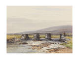 Cyclopean Bridge (Post Bridge  Dartmoor)   C1895-96