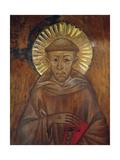 Portrait of St Francis  C1285 (Detail)