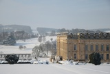 Chatsworth House from the East  Derbyshire