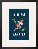 British West Indies Airways: BWIA Jamaica  c1962