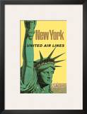 United Air Lines: New York  c1950s