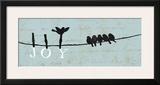 Birds on a Wire - Joy