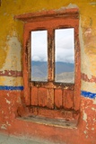 View Through the Monastery Window  Likir Monastery  Ladakh  India