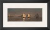 Gloucester  Mackerel Fleet at Dawn  c1884