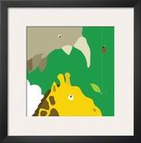Safari Group: Giraffe and Rhino
