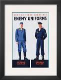 Spot at Sight Chart No 2  Enemy Uniforms  German Airman  German Sailor