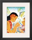 Hawaiian Gifts of the Sea  Menu Cover  c 1930s