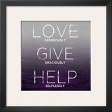 Love  Give  Help (purple)