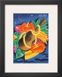 The Essence Of Aloha  Menu Cover c1930s