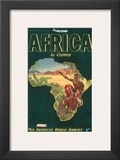 Pan American Airways Africa  c1949