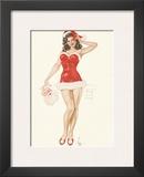 Pin Up Girl December c1940s