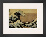 The Great Wave at Kanagawa (from 36 views of Mount Fuji)  c1829