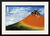 Red Fuji  Fine Wind Clear Morning