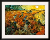 The Red Vineyard at Arles  c1888