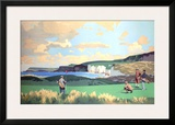 Golf in Northern Ireland  LMS Poster  circa 1925