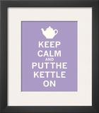 Keep Calm  Lavender Tea