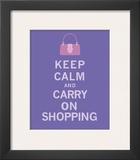 Keep Calm  Shopping